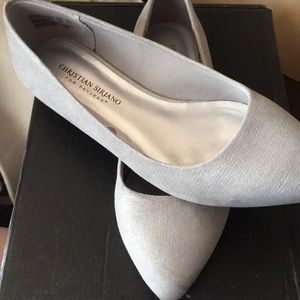 Christian Siriano for Payless Silver Pointed Flats